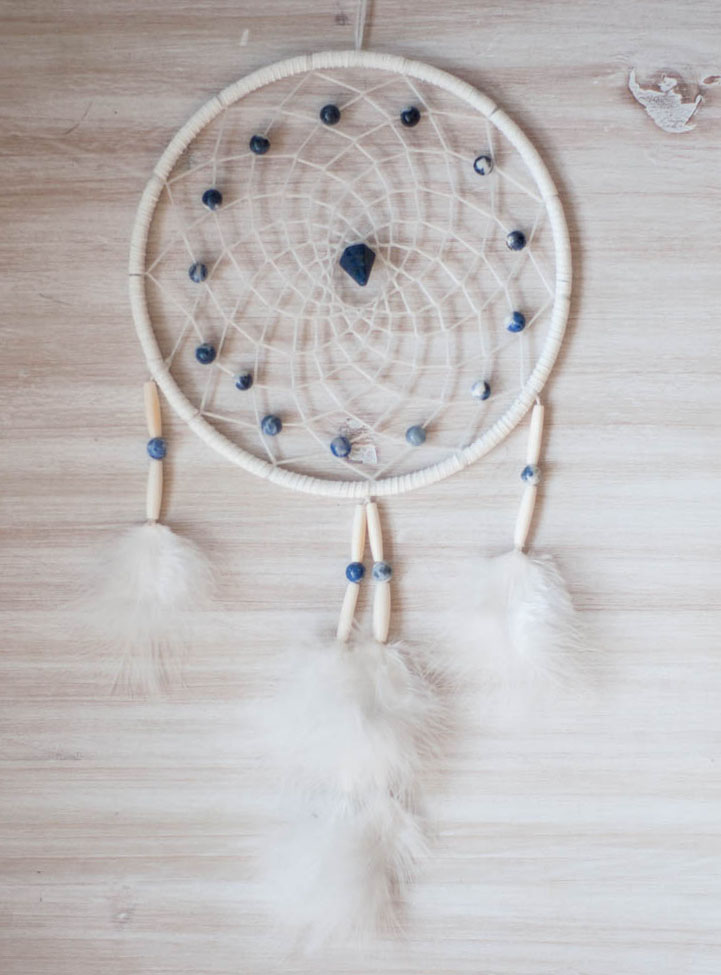 Sodalite Dreamcatcher - Intuition