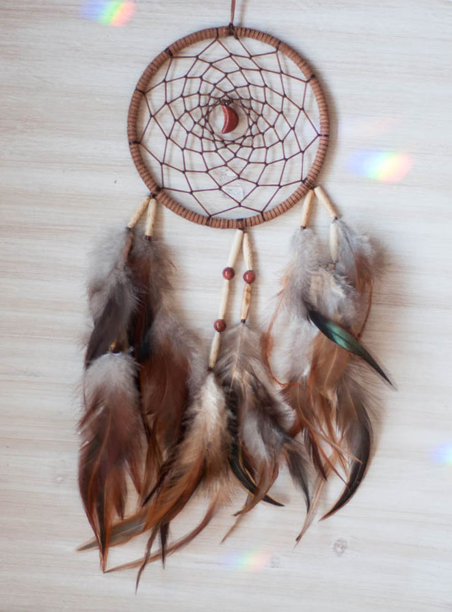 Goldstone Dreamcatcher - Wealth