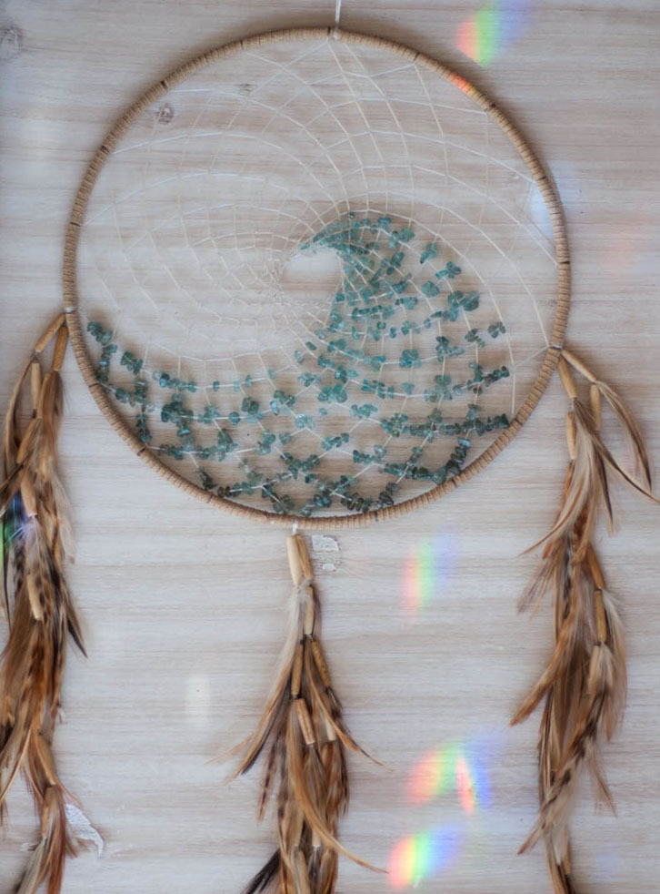 Beach Wave Dreamcatcher