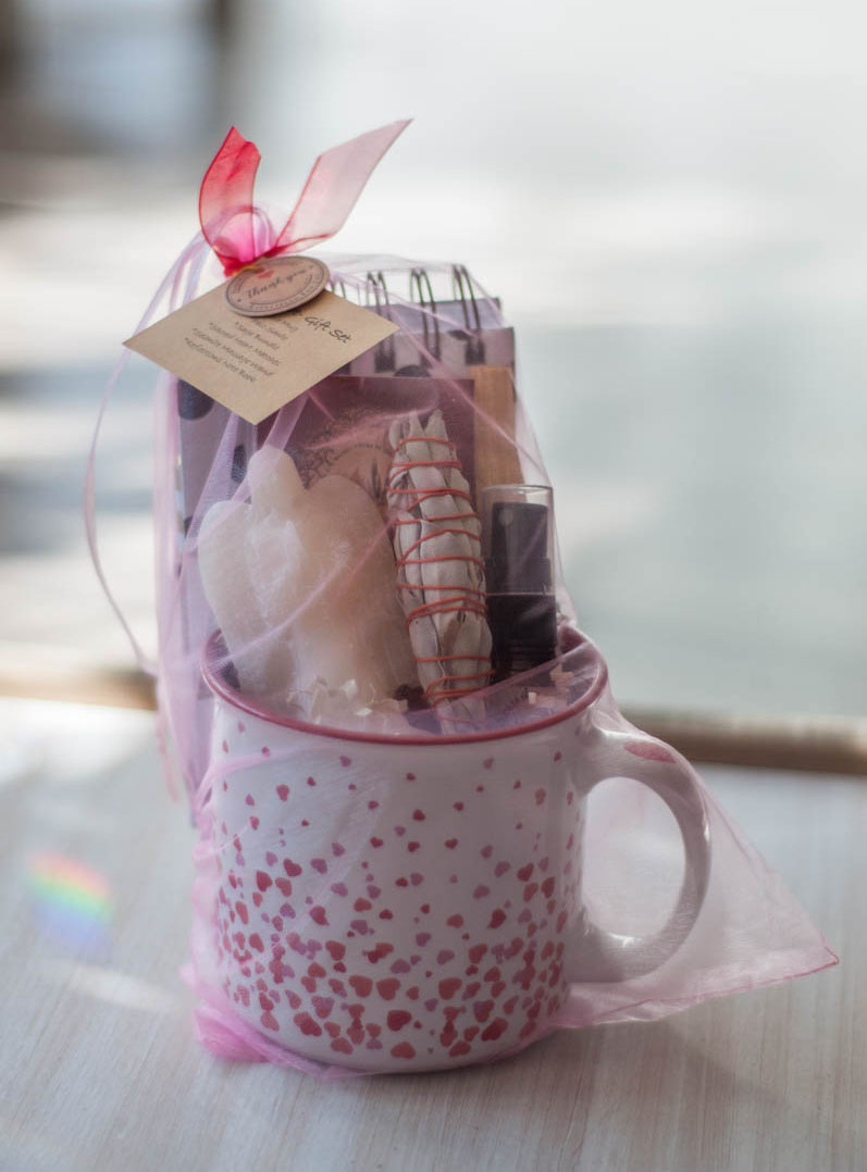Cup of Love Gift Sets - Hearts