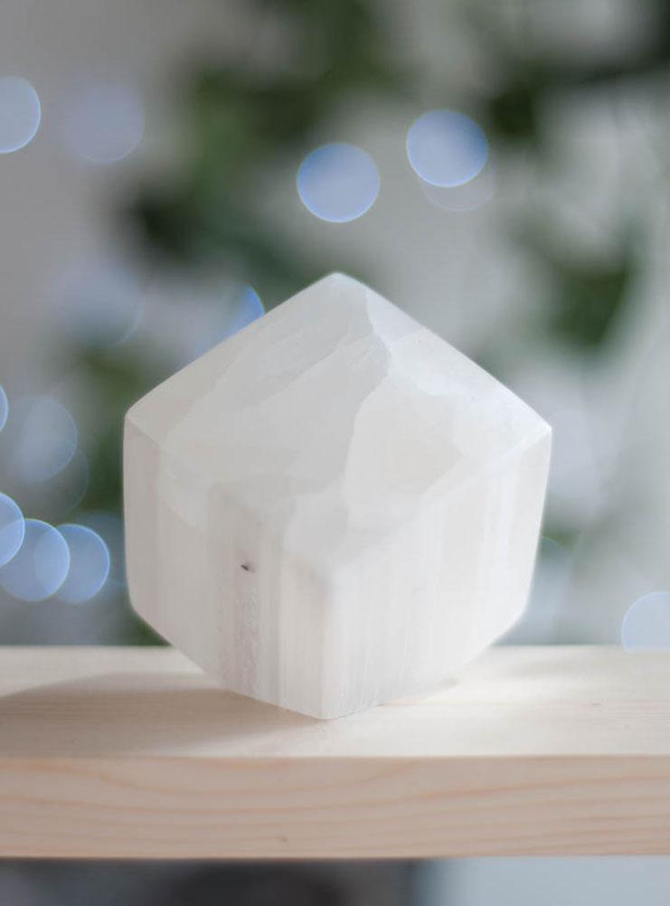 Selenite Cube