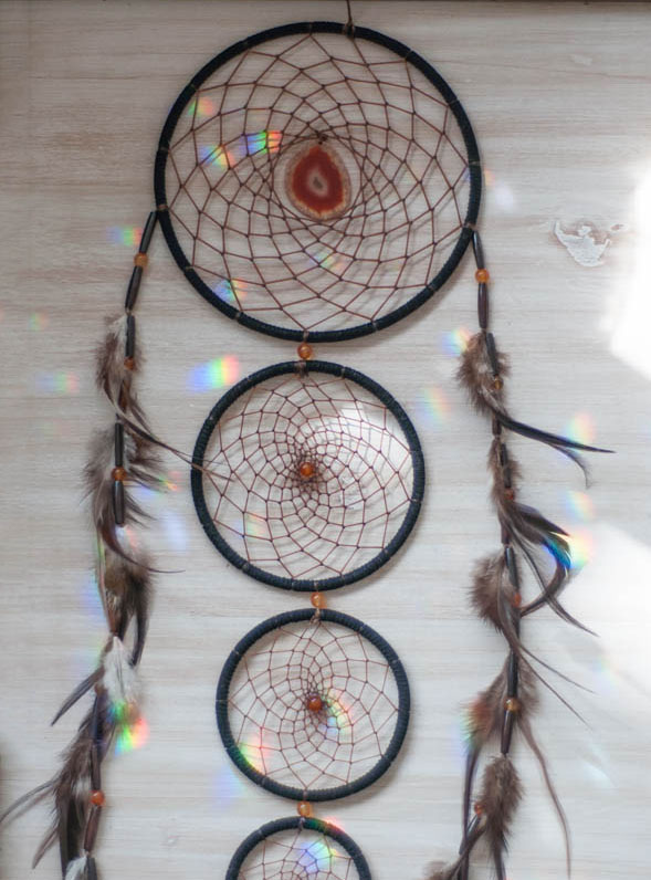 Layered Agate Dreamcatcher #10