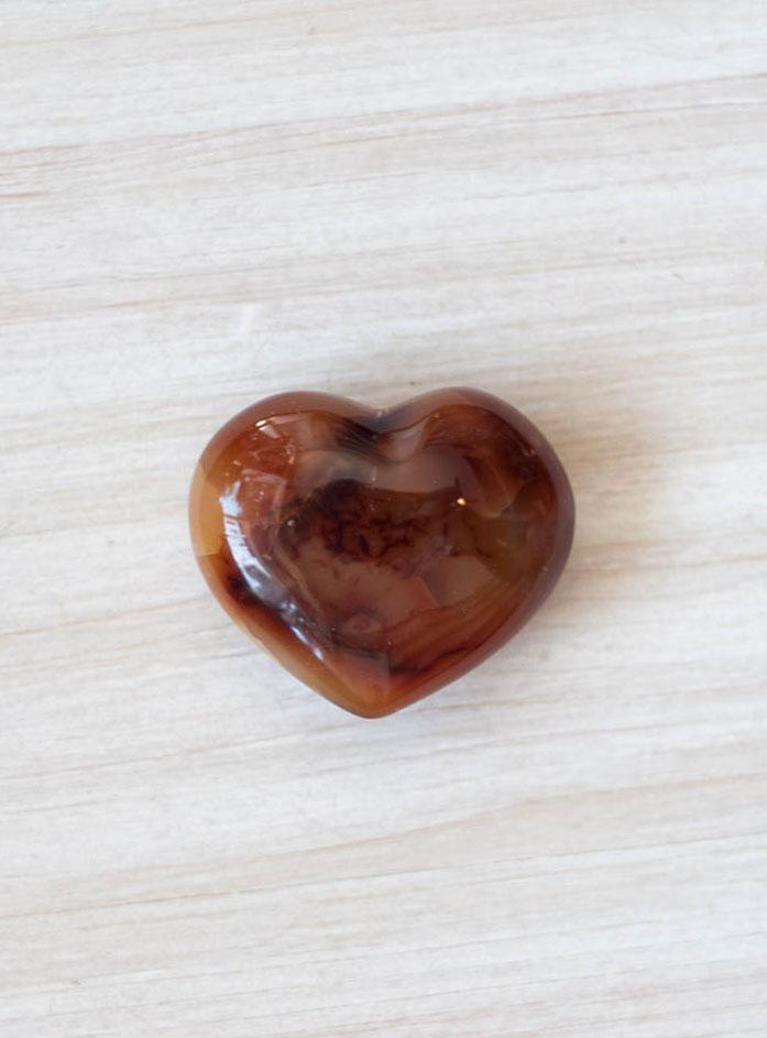 Carnelian Heart - medium