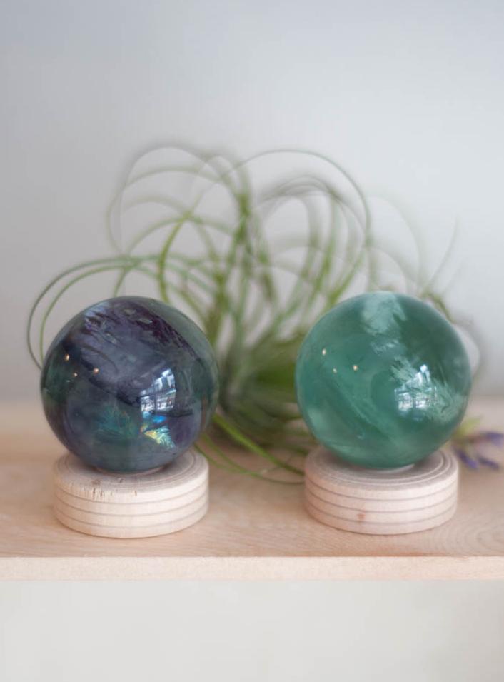 Fluorite Sphere 1.5 inch