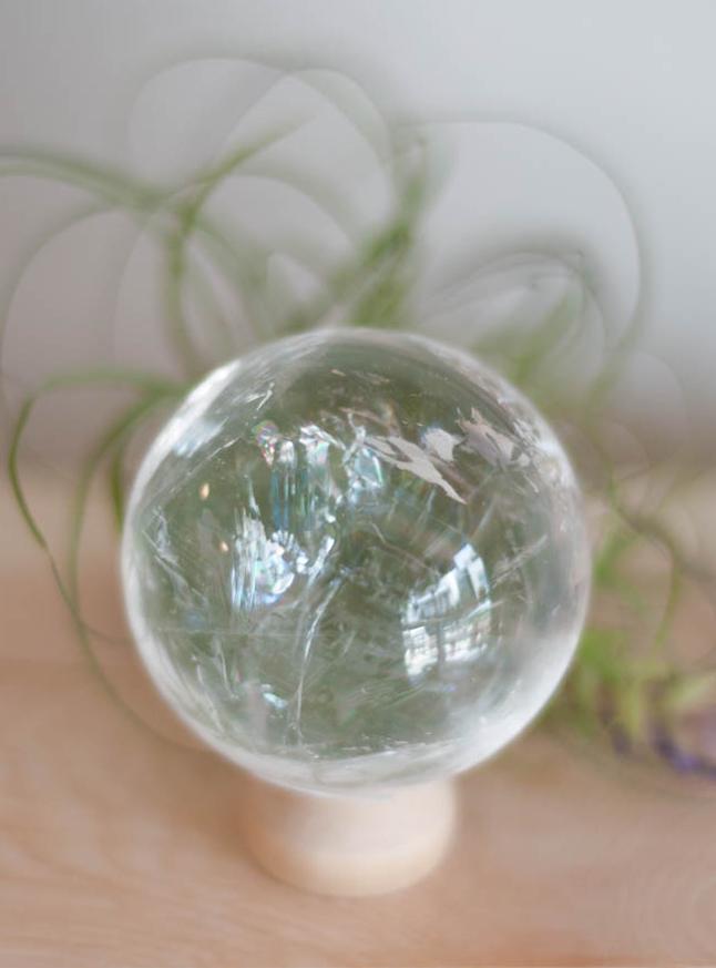 Clear Quartz Sphere #3