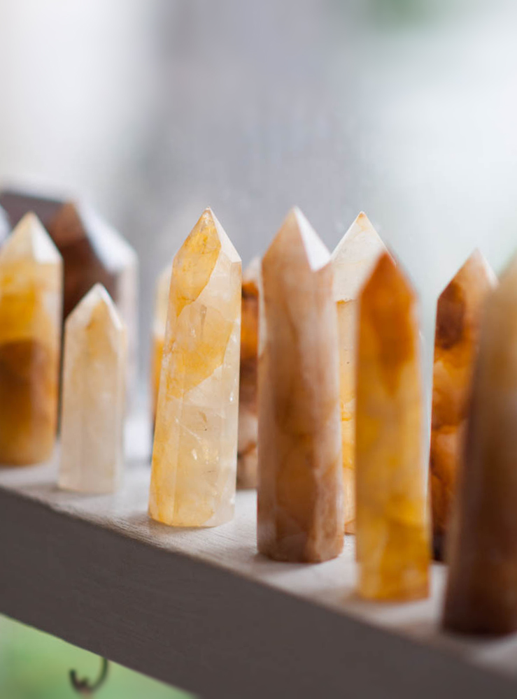 Golden Healer Quartz Tower small