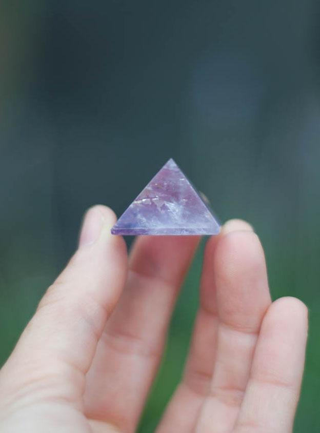 Amethyst Pyramid small