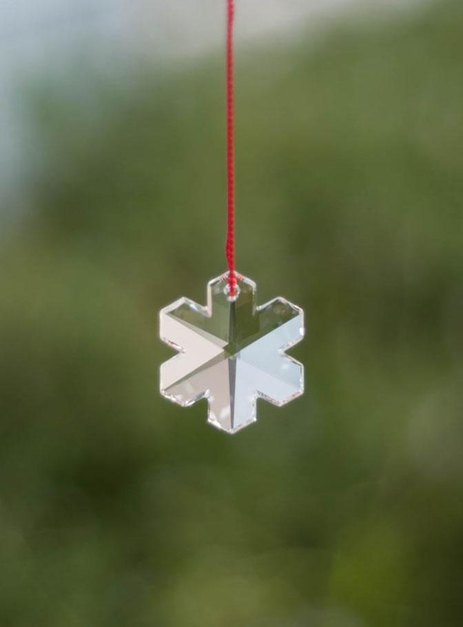 Swarovski Crystal 30mm Rainbow Maker Snowflake
