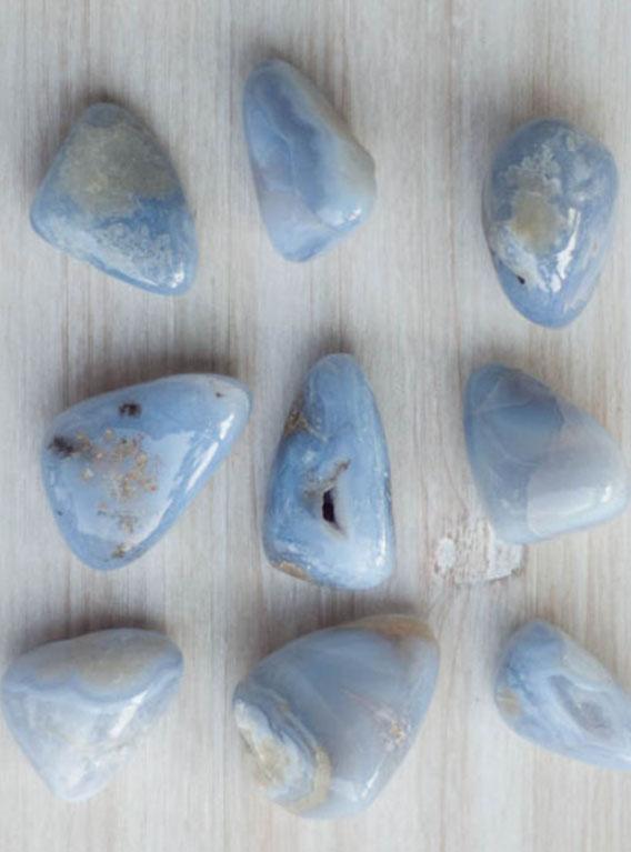 Blue Lace Agate medium