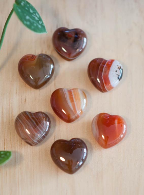 Carnelian Heart small