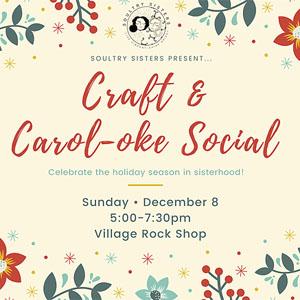Craft & Carol-oke Social
