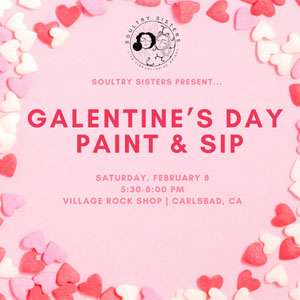 Galentine's Day Sip & Paint