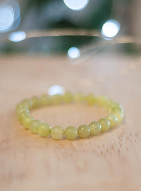 Light Jade Bracelet