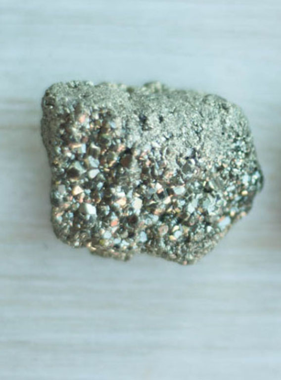 Raw Pyrite medium
