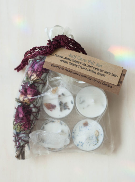 Self Care Gift Set - Clear Quartz
