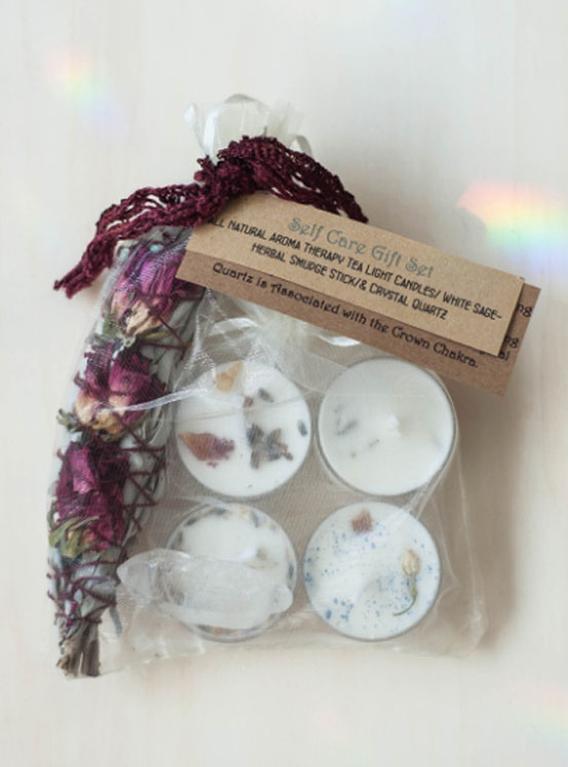 Self Care Gift Set - Clear Quartz