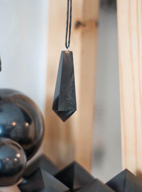 Shungite Pendant/Pendulum