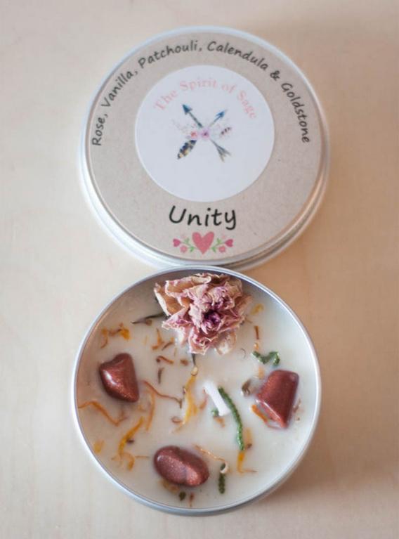 Unity Tin Travel Candle