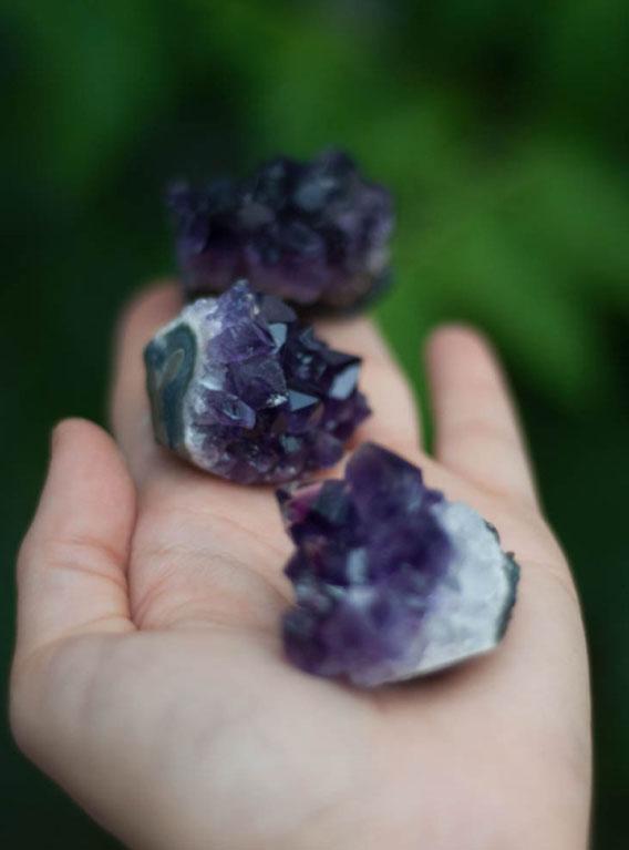 Uruguay Amethyst Cluster medium